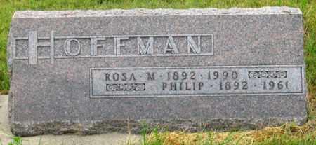 HOFFMAN, ROSA M. - Dundy County, Nebraska | ROSA M. HOFFMAN - Nebraska Gravestone Photos