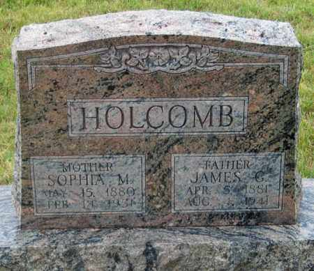 HOLCOMB, JAMES GARFIELD - Dundy County, Nebraska | JAMES GARFIELD HOLCOMB - Nebraska Gravestone Photos