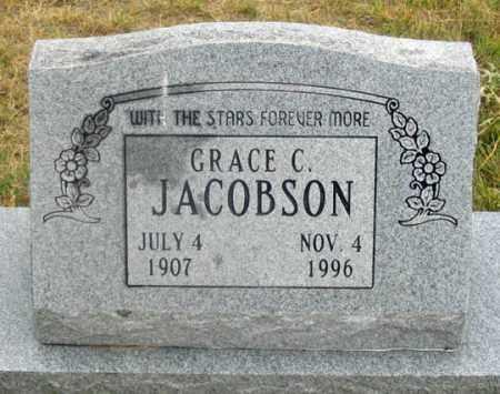 JACOBSON, GRACE C. - Dundy County, Nebraska   GRACE C. JACOBSON - Nebraska Gravestone Photos