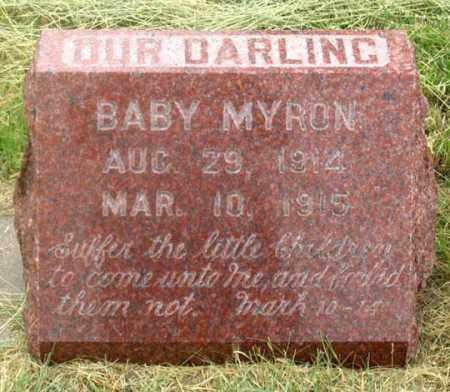JACOBSON, MYRON F. - Dundy County, Nebraska   MYRON F. JACOBSON - Nebraska Gravestone Photos
