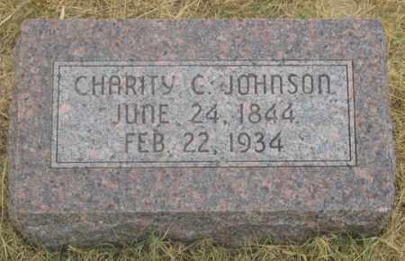 JOHNSON, CHARITY C. - Dundy County, Nebraska | CHARITY C. JOHNSON - Nebraska Gravestone Photos