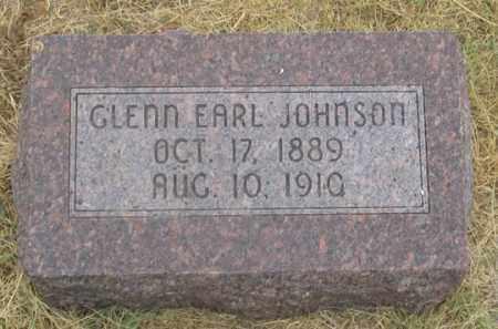 JOHNSON, GLENN EARL - Dundy County, Nebraska   GLENN EARL JOHNSON - Nebraska Gravestone Photos