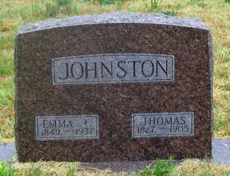 NEWMAN JOHNSTON, EMMA CHRISTINA - Dundy County, Nebraska | EMMA CHRISTINA NEWMAN JOHNSTON - Nebraska Gravestone Photos