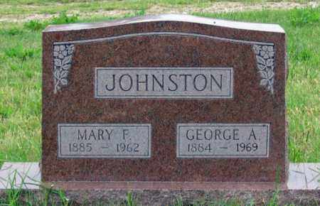 JOHNSTON, GEORGE A. - Dundy County, Nebraska | GEORGE A. JOHNSTON - Nebraska Gravestone Photos