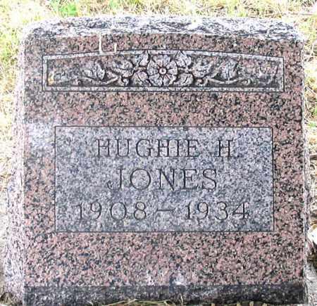 JONES, HUGHIE HENRY - Dundy County, Nebraska | HUGHIE HENRY JONES - Nebraska Gravestone Photos