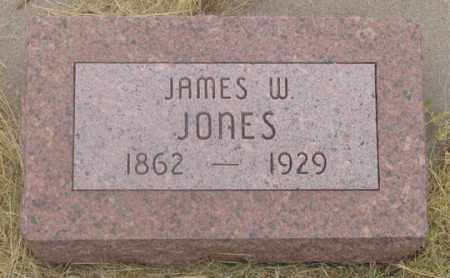 JONES, JAMES WILLIAM - Dundy County, Nebraska | JAMES WILLIAM JONES - Nebraska Gravestone Photos