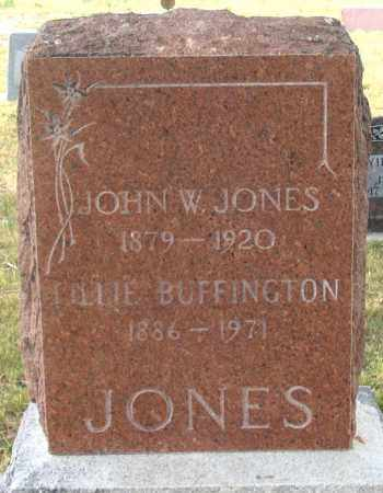 JONES, JOHN W. - Dundy County, Nebraska | JOHN W. JONES - Nebraska Gravestone Photos