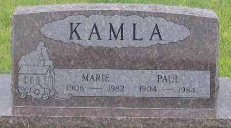 KAMLA, PAUL HENRY - Dundy County, Nebraska | PAUL HENRY KAMLA - Nebraska Gravestone Photos