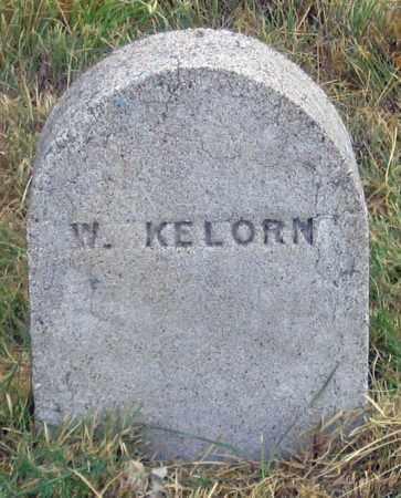 KELORN, W. - Dundy County, Nebraska   W. KELORN - Nebraska Gravestone Photos