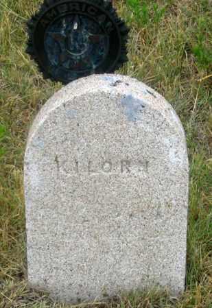 KILORN, ?? - Dundy County, Nebraska   ?? KILORN - Nebraska Gravestone Photos