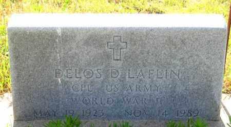 LAFLIN, DELOS DALE - Dundy County, Nebraska | DELOS DALE LAFLIN - Nebraska Gravestone Photos