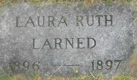 LARNED, LAURA RUTH - Dundy County, Nebraska | LAURA RUTH LARNED - Nebraska Gravestone Photos