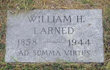 LARNED, WILLIAM H. - Dundy County, Nebraska | WILLIAM H. LARNED - Nebraska Gravestone Photos