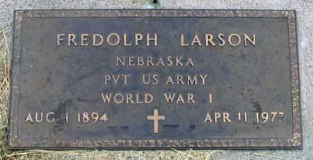 LARSON, FREDOLPH - Dundy County, Nebraska   FREDOLPH LARSON - Nebraska Gravestone Photos