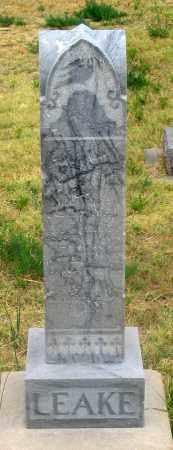 LEAKE, CHARLES LESTER - Dundy County, Nebraska | CHARLES LESTER LEAKE - Nebraska Gravestone Photos