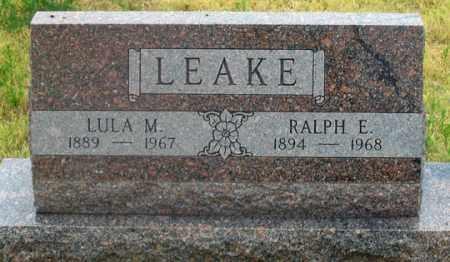 LEAKE, LULA M. - Dundy County, Nebraska | LULA M. LEAKE - Nebraska Gravestone Photos