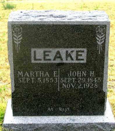 BEASLEY LEAKE, MARTHA ELLEN - Dundy County, Nebraska | MARTHA ELLEN BEASLEY LEAKE - Nebraska Gravestone Photos