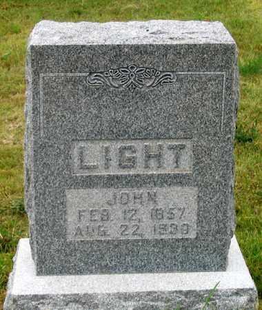 LIGHT, JOHN - Dundy County, Nebraska | JOHN LIGHT - Nebraska Gravestone Photos