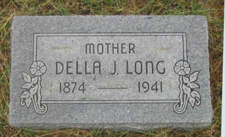 FOWLER LONG, DELLA JANE - Dundy County, Nebraska | DELLA JANE FOWLER LONG - Nebraska Gravestone Photos