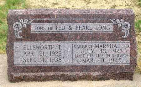 LONG, MARSHALL D. - Dundy County, Nebraska | MARSHALL D. LONG - Nebraska Gravestone Photos
