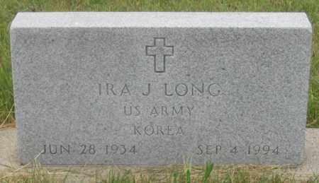 LONG, IRA J. - Dundy County, Nebraska   IRA J. LONG - Nebraska Gravestone Photos