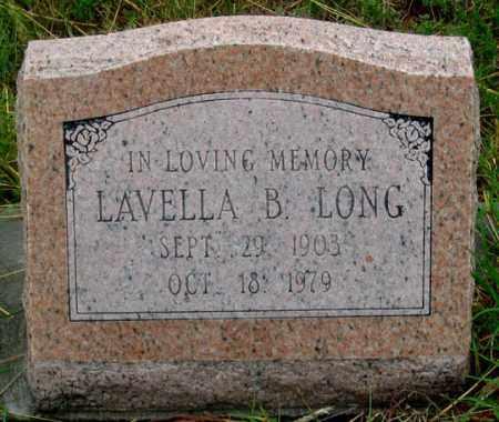 ARNOLD LONG, LAVELLA B. - Dundy County, Nebraska | LAVELLA B. ARNOLD LONG - Nebraska Gravestone Photos
