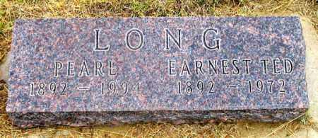 LONG, PEARL - Dundy County, Nebraska | PEARL LONG - Nebraska Gravestone Photos