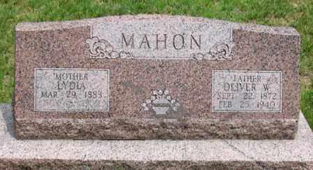 DERRELL MAHON, LYDIA - Dundy County, Nebraska | LYDIA DERRELL MAHON - Nebraska Gravestone Photos