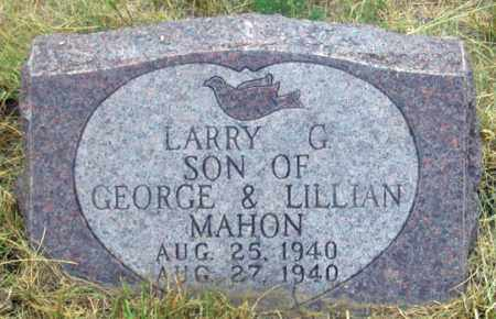 MAHON, LARRY GLEN - Dundy County, Nebraska | LARRY GLEN MAHON - Nebraska Gravestone Photos