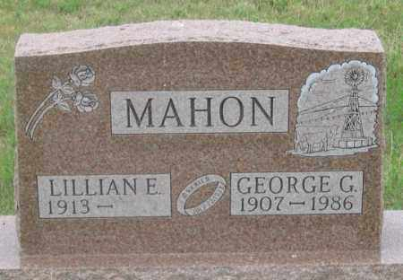 MAHON, GEORGE G. - Dundy County, Nebraska | GEORGE G. MAHON - Nebraska Gravestone Photos