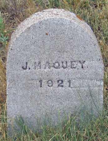 MAQUEY, JOSE JUOCEMEO - Dundy County, Nebraska   JOSE JUOCEMEO MAQUEY - Nebraska Gravestone Photos