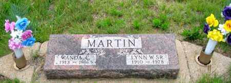 MARTIN, LYNN W., SR. - Dundy County, Nebraska | LYNN W., SR. MARTIN - Nebraska Gravestone Photos
