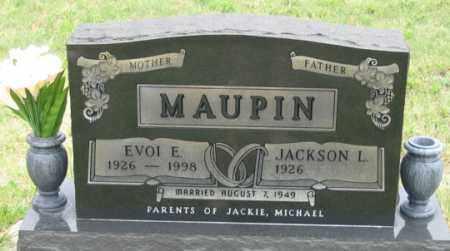 MAUPIN, EVOI E. - Dundy County, Nebraska | EVOI E. MAUPIN - Nebraska Gravestone Photos