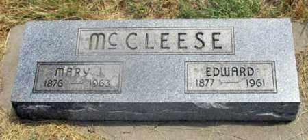 HARDMAN MCCLEESE, MARY J. - Dundy County, Nebraska | MARY J. HARDMAN MCCLEESE - Nebraska Gravestone Photos