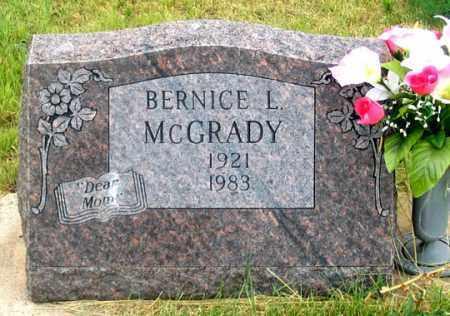 MCGRADY, BERNICE LOUISE - Dundy County, Nebraska | BERNICE LOUISE MCGRADY - Nebraska Gravestone Photos