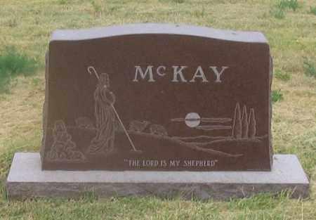 MCKAY FAMILY, HEADSTONE - Dundy County, Nebraska | HEADSTONE MCKAY FAMILY - Nebraska Gravestone Photos