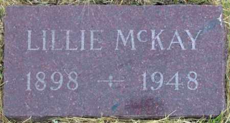 "MUIR MCKAY, LILLIAN""LILLIE"" - Dundy County, Nebraska | LILLIAN""LILLIE"" MUIR MCKAY - Nebraska Gravestone Photos"