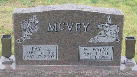 MCVEY, W. WAYNE - Dundy County, Nebraska   W. WAYNE MCVEY - Nebraska Gravestone Photos