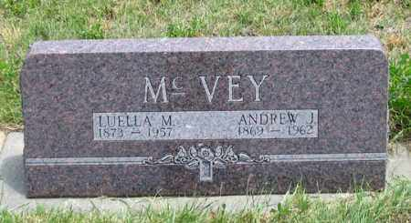 NOBLE MCVEY, LUELLA M. - Dundy County, Nebraska | LUELLA M. NOBLE MCVEY - Nebraska Gravestone Photos