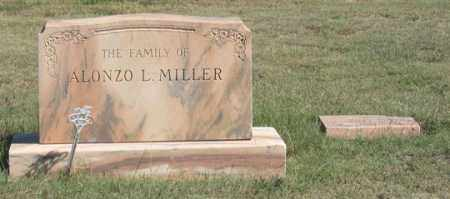 MILLER, ALONZO FAMILY GRAVE SITE - Dundy County, Nebraska | ALONZO FAMILY GRAVE SITE MILLER - Nebraska Gravestone Photos