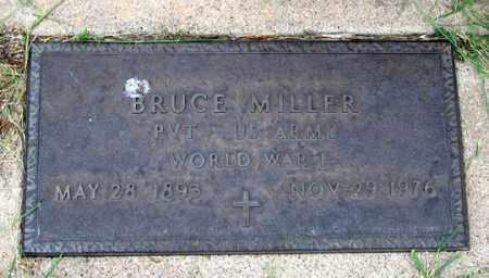 MILLER, BRUCE - Dundy County, Nebraska | BRUCE MILLER - Nebraska Gravestone Photos