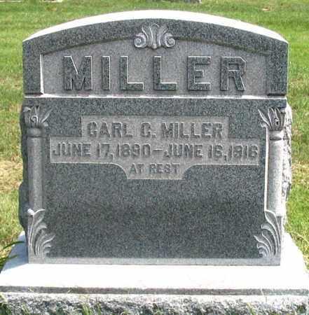 MILLER, CARL C. - Dundy County, Nebraska   CARL C. MILLER - Nebraska Gravestone Photos