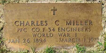 MILLER, CHARLES C. - Dundy County, Nebraska | CHARLES C. MILLER - Nebraska Gravestone Photos