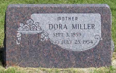 MILLER, DORA - Dundy County, Nebraska | DORA MILLER - Nebraska Gravestone Photos