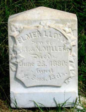 MILLER, ELMER LLOYD - Dundy County, Nebraska   ELMER LLOYD MILLER - Nebraska Gravestone Photos