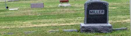 MILLER, EMERY FAMILY GRAVE SITE - Dundy County, Nebraska | EMERY FAMILY GRAVE SITE MILLER - Nebraska Gravestone Photos