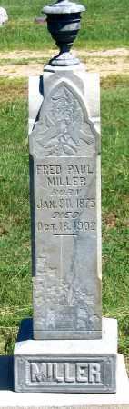 MILLER, FRED PAUL - Dundy County, Nebraska | FRED PAUL MILLER - Nebraska Gravestone Photos
