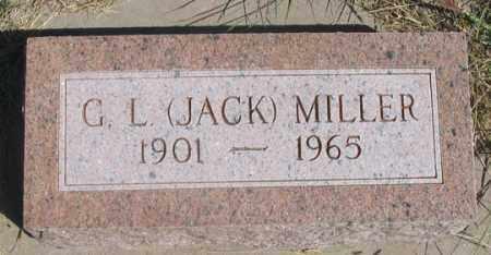 "MILLER, GAIL LLOYD ""JACK"" - Dundy County, Nebraska | GAIL LLOYD ""JACK"" MILLER - Nebraska Gravestone Photos"