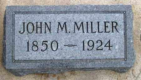 MILLER, JOHN M. - Dundy County, Nebraska   JOHN M. MILLER - Nebraska Gravestone Photos