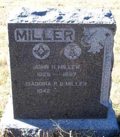 MILLER, ISADORIA P. B. - Dundy County, Nebraska | ISADORIA P. B. MILLER - Nebraska Gravestone Photos